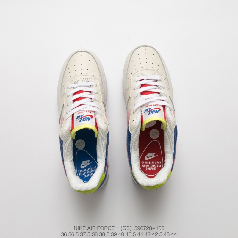 Deadstock Nike Air Force 1 Low Three Primary Colour Corduroy