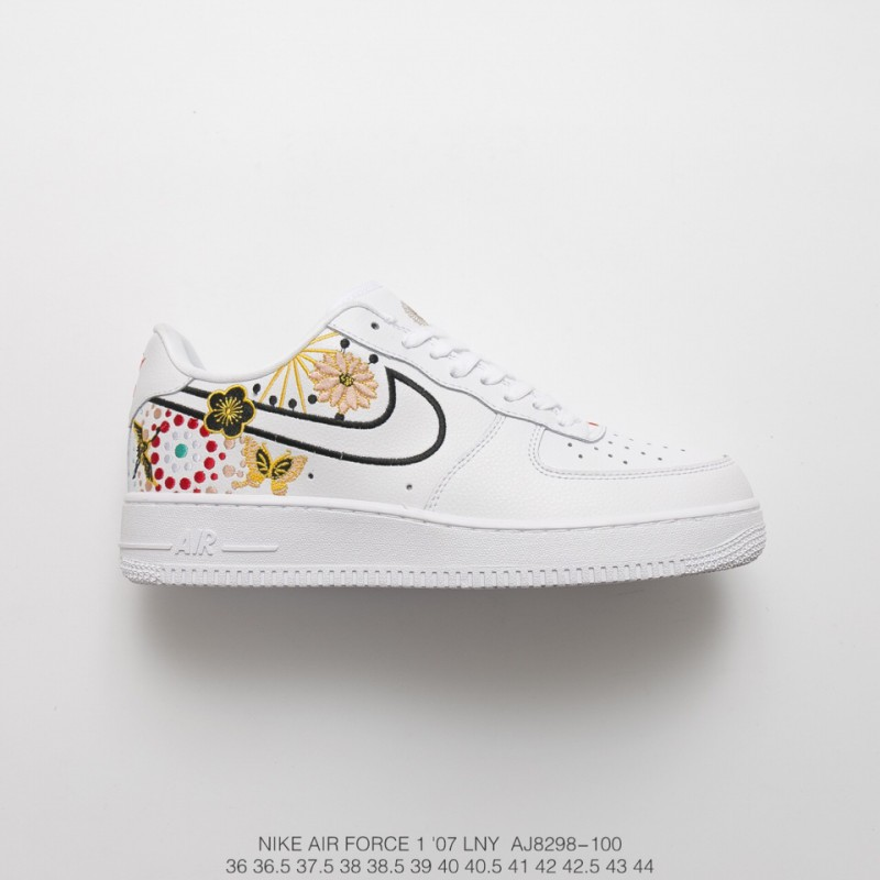 reputable site 9ce80 9764c Nike Air Force 1 Cny Air Force Low Chinese New Year Totem Embroidery ...
