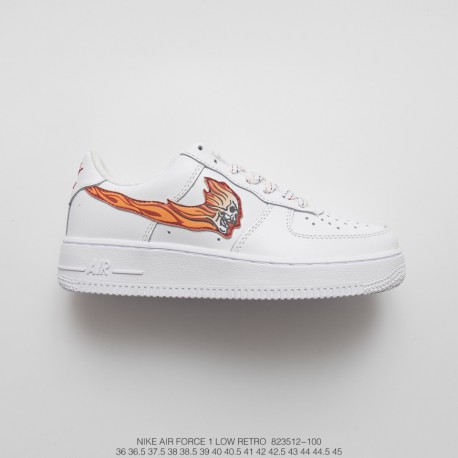wholesale dealer 86489 affb3 Unisex Wisp Nike Air Force 1 Low Classic Low All-Match Sneakers Wisp