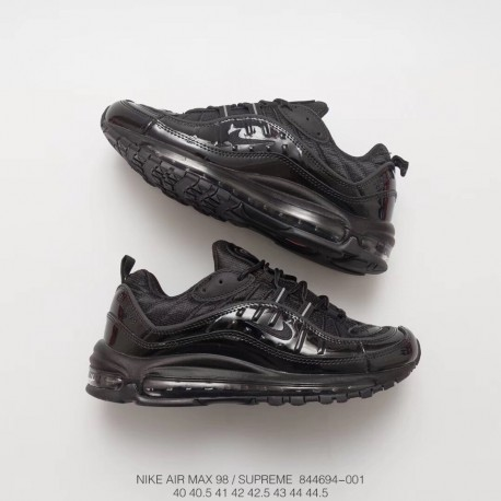 the latest 829f5 d0f2d Deadstock Nike Air Max 98 Supreme Limited Edition Total Air Increased  Platform Shoes Men's Sports Trainers Shoes Perfect Work I