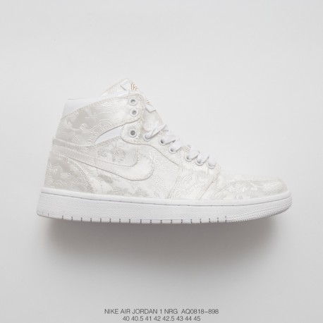 check out 27bf4 30e1c Air Jordan 1 Nrg Joe 1 Aj1 Silk Embroidery Phylon In The Sky Blossoms High  Sneakers