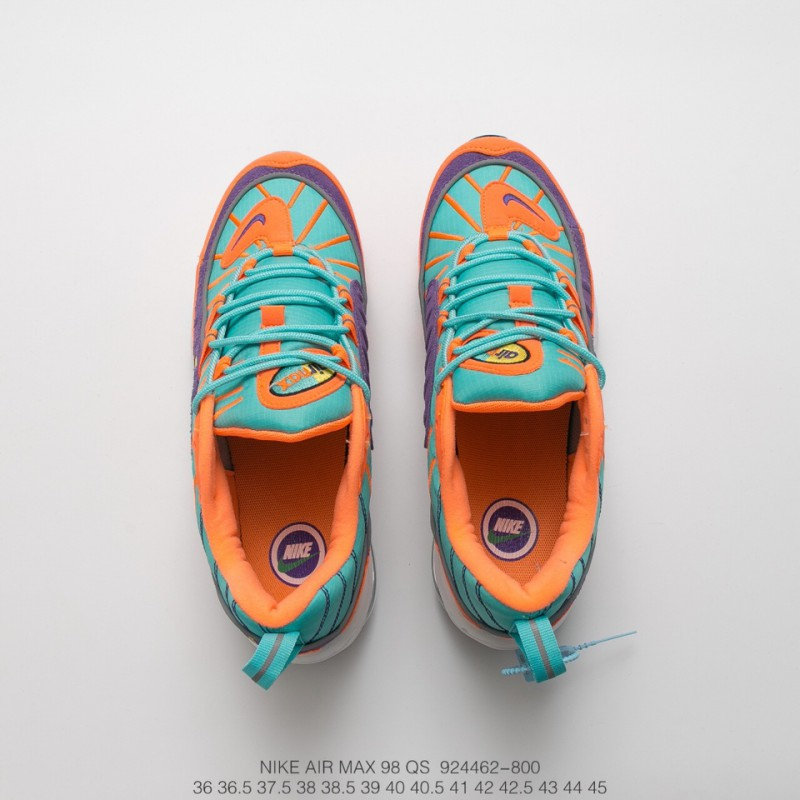 Dragon Ball Colorway Nike Air Max 98 Qs Vibrant Air Is Probably The Most Arrogant Of The Year. Colorway Is Not Only The Combina