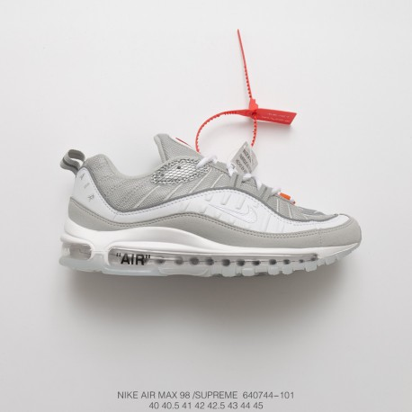 new product d49ab a227a Limited Edition Released To Supreme X Nikelab Air Max 98 Vintage Air  All-Match Jogging Shoes