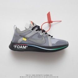 91f549c841fbdd Virgil Abloh Designer Independent Brand Super Limited Edition Off White X Nike  Zoom Fly Lightweight Cushioning