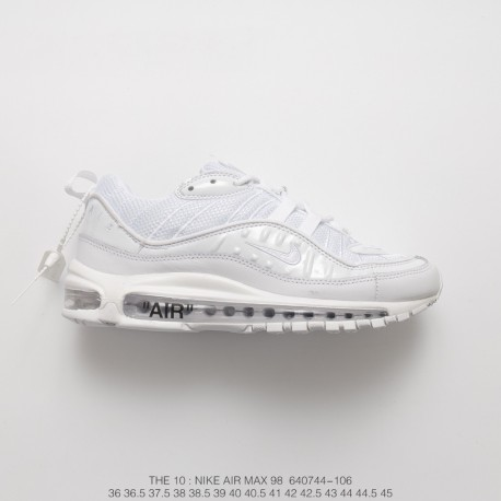 nike air max 98 off white black