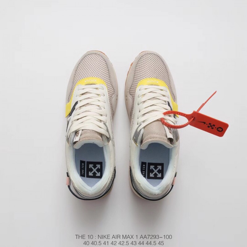 a19974c78cfa86 ... Nike Air Max 1 Off-White Do Not E Bespoke Melbourne Sneaker Custom Unit  Bespokeind ...