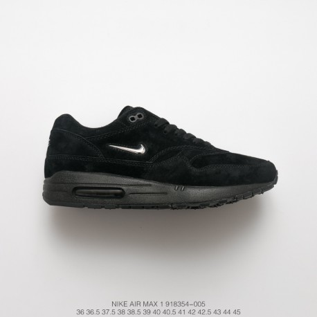 air max 1 black suede
