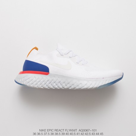 best sneakers 82dd5 75019 Nike Epic React Flyknit Unisex Trainers Shoes