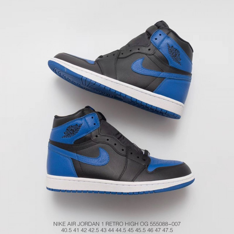 Royal Blue Nike Basketball Shoes From China 088 007 Black And Blue