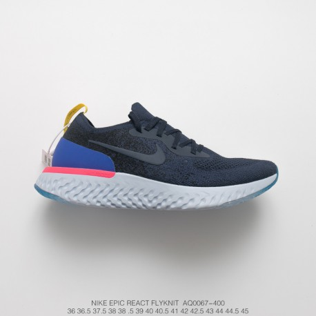 bec529504a5c Nike Epic React Flyknit Unisex Trainers Shoes