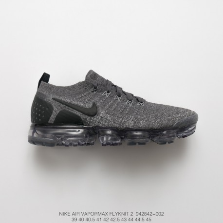 various colors e6a70 aa486 Nike Air Vapormax Flyknit 2.0 W Second Generation Air Max All-Match Jogging  Shoes 2.0 Black And White