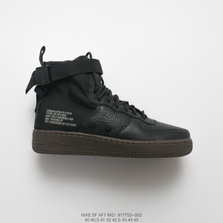 Wholesale Nike Air Force 1 Mid 07 Black,AA7345 200 Nike SF