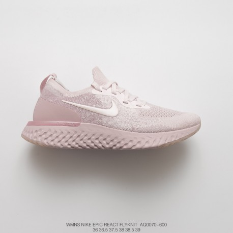 Womens Fsr Nike Epic React Flyknit Pro Epic Flyknit Ultra Lightweight  Rebound Jogging Shoes Sakura Rose e011d7aabeb8