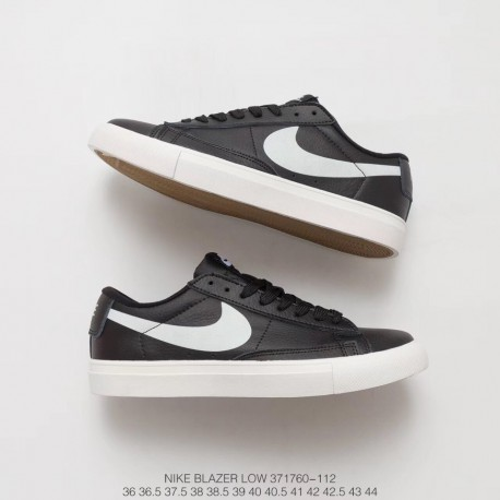 huge discount abb49 9c11a 760 110 Luminous Mens Sneakers Nike Blazer Low Gt Black And White