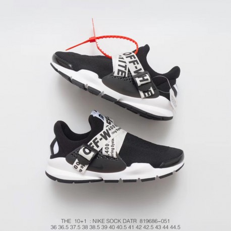 purchase cheap 67ed6 aa9d2 Deadstock Off-White X Nike Sock Dart Ten Plus One Off-White Supervisor  Virgil