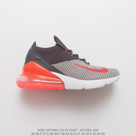 lowest price f239d 7463a 270 Knit Nike Air Max 270 Vintage Wind Design Heel Part Into Visable Air