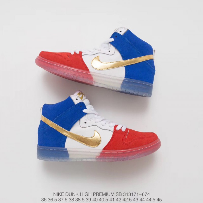Cheap Nike Dunk High Red And White,171