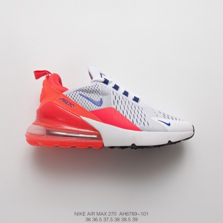 air max 270 blue and white