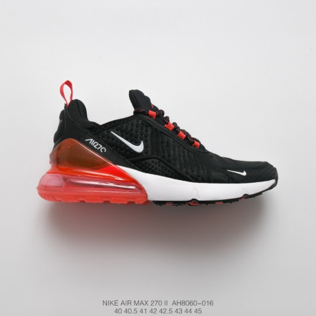 new style bae8c 134f5 Mens Fsr Nike Air Max 270 2nd Generation Seat Half Palm Air Jogging Shoes  High Frequency Hf Face Black And White Red