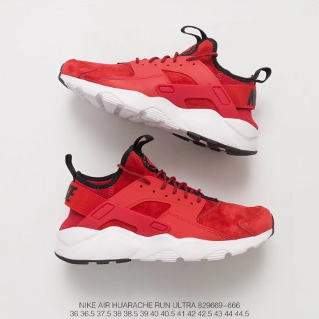 official photos 0d914 f47f7 Original Box Wallace Four Generations Nike Air Huarache Run Ultra Whole Pig  Eight Red And White