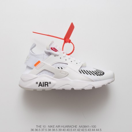 buy online a73e7 b5abb Bespoke Virgil Abloh Designer Independent Brand Off White X Nike Air  Huarache Ultra Wallace Four Generations Vintage Jogging Sh