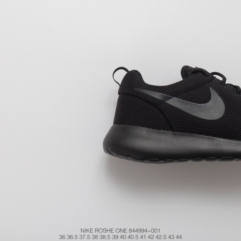 81a4b4c64a556 ... 994 001 Fsr Roshe One Whole Black Nike Roshe One Casts The Meaning Of  Zong Zen