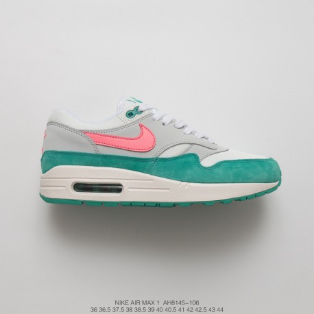 59597cbbb7 ... low cost womens nike air max anniversary 1 vintage air all match  jogging shoes watermelon green
