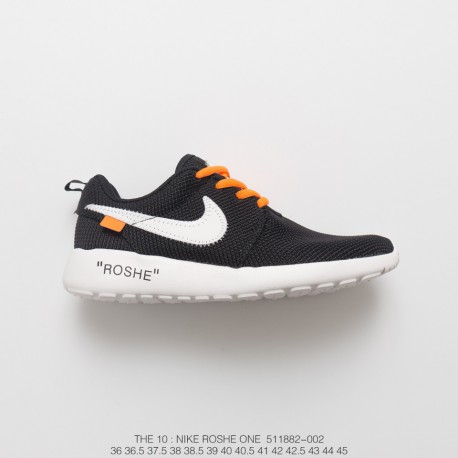 new concept 56432 45b93 Off-White X Nikeroshe One Olympic London Mesh Trainers Shoes