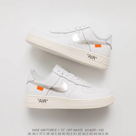 e2131db579c8cb Sale! Ao4606 100 Nike Off-White X Nike Air Force 1 Af1 Limited Edition  Crossover