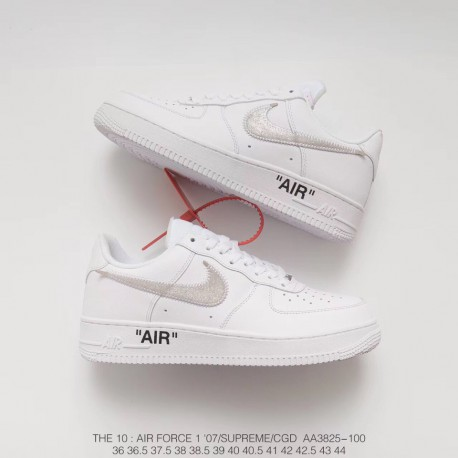 Off White X Nike Air Force 1 Low Limited Edition Gold Medal Colorway Purchase Development Restore Company Quality Upper With Tr