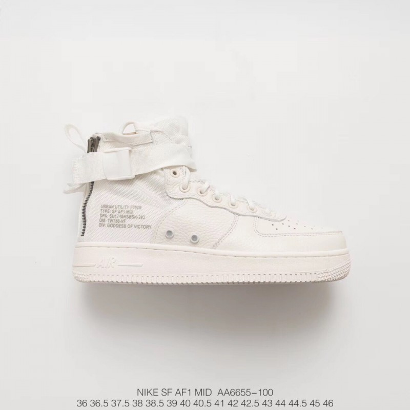 Wholesale Nike Air Force 1 Mid Herren,AA6655 100 NIKE SF Air