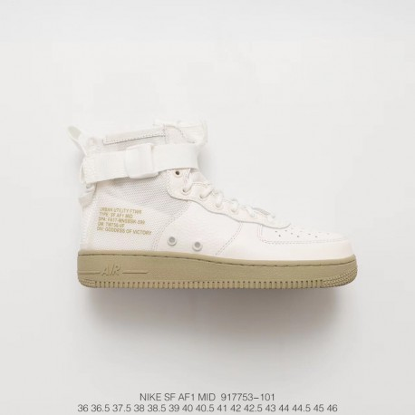 Nike Sf Air Force 1 Mid Air Force Generation Zipper Mid Sneakers
