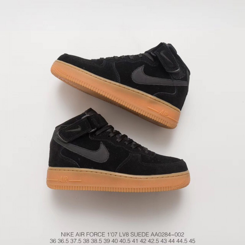 Wholesale Nike Air Force 1 Mid Grey,AA0284-002 FSR Nike Air ...