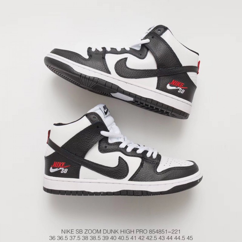 Team Dunk High Classic Sneakers White Bred