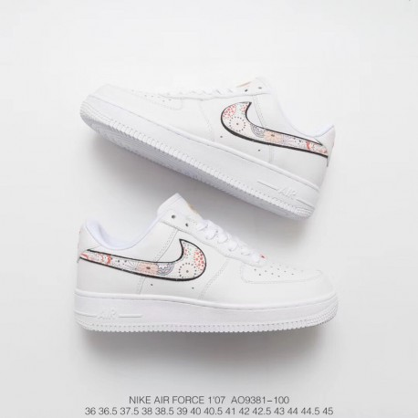 Fsr 18ss New Year's Eve Nike Air Force 1 Classic Low Leather Sneakers Chinese New Year 's Fireworks