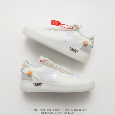 b5301e6248 Wholesale Nike Air Force Low Top White,AO4606-100 Nike OFF-WHITE X ...