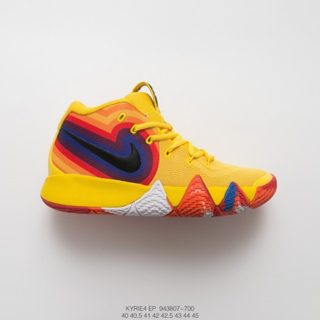 blue and yellow nike basketball shoes