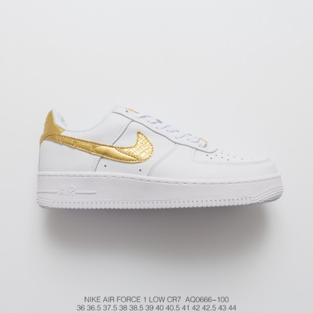 Sonno agitato lupo vestito da pecora Stabilire  Nike Af1 Cr7 Price,AQ0666-100 FSR Nike Air Force 1 Low CR7 Golden C Ronaldo  Limited edition Pale Gold AF1