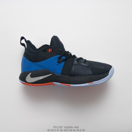 the best attitude cd419 733eb Nike Pg2 Paul George Ii Generation Signature Blue Sneaker Black And Blue