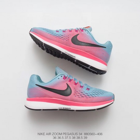 big sale b3ae0 3d97e Fsr Nike Air Zoom Pegasus 34 Lunarepic 3 4 Deadstock Racing Shoes Air  Breathable Cushioning Trainers Shoes Leisure Shoe