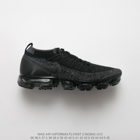 huge selection of ace41 d28af Fsr Nike Air Vapormax Flyknit 2.0 W 2nd Generation Air Max All-Match  Jogging Shoes 2.0 Black Grey