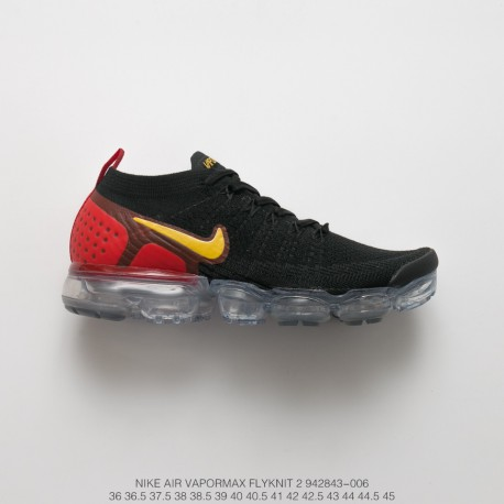 new style a383c 7ea6e Fsr Nike Air Vapormax Flyknit 2.0 W Second Generation Air Max All-Match  Jogging Shoes 2.0 Bred Yellow