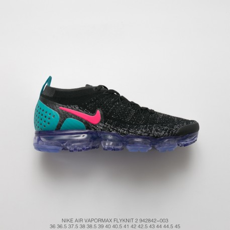 best website b4724 4b602 Fsr Nike Air Vapormax Flyknit 2.0 W Second Generation Air Max All-Match  Jogging Shoes 2.0 Black Blue Red