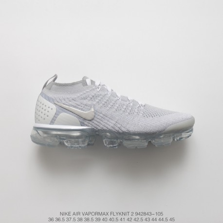 check out 374e8 2fe8a Fsr Nike Air Vapormax Flyknit 2.0 W 2nd Generation Air Max All-Match  Jogging Shoes 2.0 Off-White
