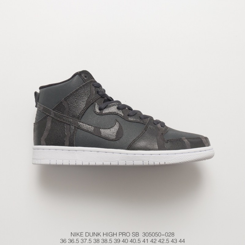competitive price 048d7 5def8 Unisex Nike Sb Zoom Dunk High Athleisure Shoe Sneakers Coal Black / Black /  White