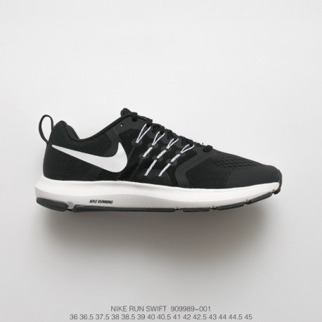 new concept cc384 26252 Fsr Nike Run Swift Speed runner Trainers Shoes Black And White