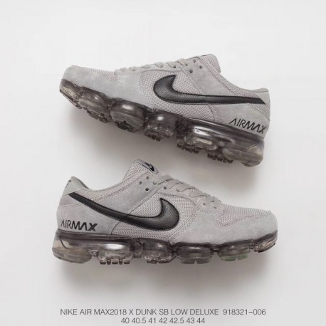6febaabe28715d 321 006 Deadstock Nike Air Vapormax Pigskin Mesh Splicing Deadstock Air Max  Trainers Shoes