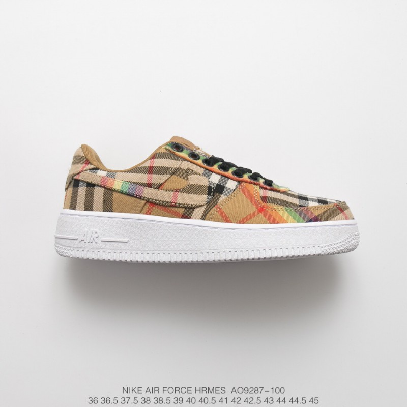 Wholesale Nike Air Force 1 Burberry