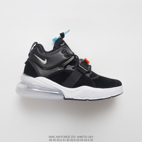 85d2a04756 Deadstock Single Item Nike Air Force 270 Air Force Mid Rear Half Palm Air  Function Jogging